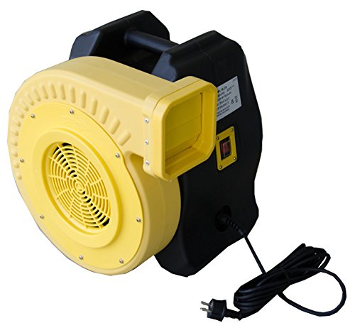1.0 HP Zoom Blower 220-Volt European Adjustable Performance Super High Output Commercial Bounce House Blower by Zoom