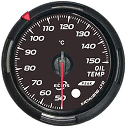 メーター 実用 簡単 車 車のトラックのボートのための油温計コントロールユニットの設定アンバー/レッド60ミリメートル 小型サイズ 防水 軽量