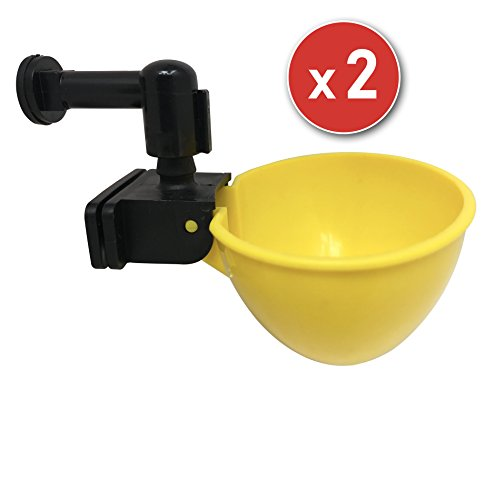 Top chicken nippler waterer cups for 2020