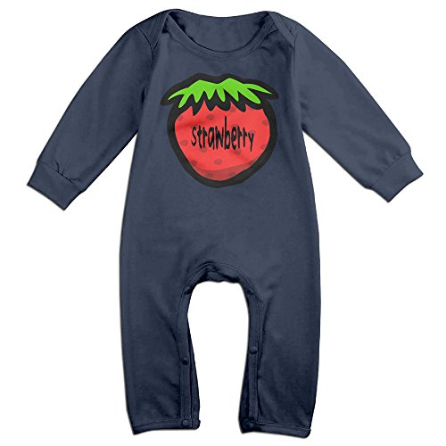 [VanillaBubble Strawberry For 6-24 Months Boys&Girls Particular Tee Shirt Navy Size 6 M] (Baby Megamind Costume)