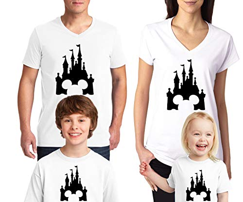 239630a3ac9f Natural Underwear Family Trip Mouse Men Women Kids Youth Tee Shirt ...