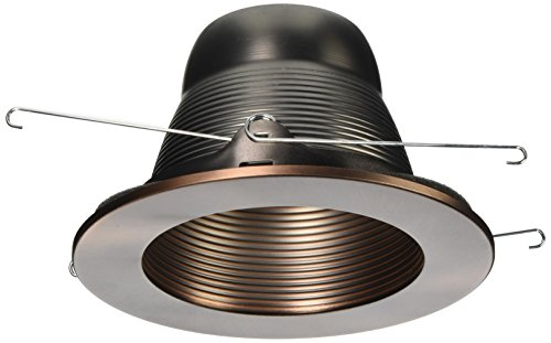 Voltage Bronze Trim Recessed Lighting (WAC Lighting R-520-CB 5-Inch R500 Line Voltage R500 Line Voltage Series Trim Step Baffle)