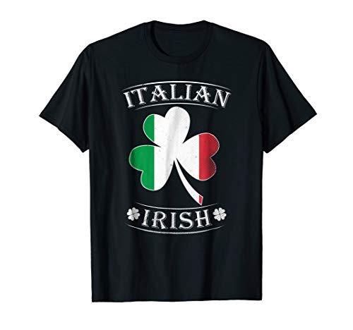Italian Irish Shirt Flag of Italy