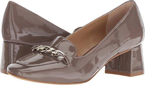 Tahari Women's Mason Taupe Grey Two-Tone Patent 6.5 M - Footwear Patent Taupe