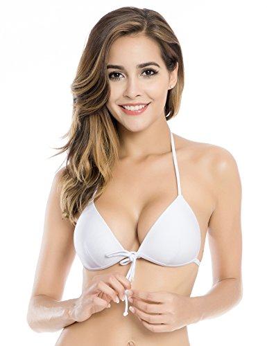2a010fa0d8c77 RELLECIGA Women s Push up Triangle Bikini Top - Buy Online in Oman ...