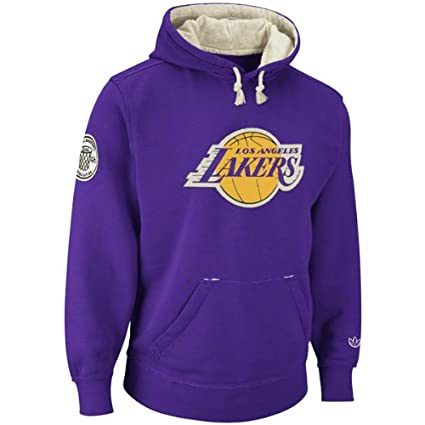 adidas Los Angeles Lakers Vintage Springfield Fleece Pullover Sweatshirt camisa