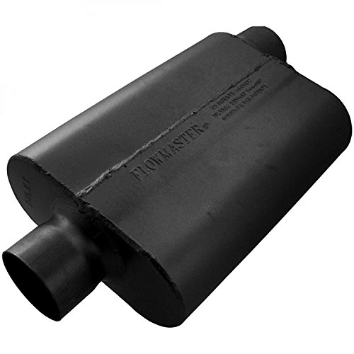 Flowmaster 943042 40 Delta Flow Muffler - 3.00 Center IN / 3.00 Offset OUT - Aggressive Sound