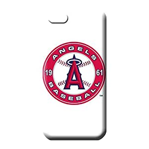 iphone 6plus 6p Skin mobile phone carrying cases Back Covers Snap On Cases For phone case cover los angeles angels mlb baseball