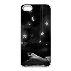 Unique Phone Case Design 15Stars In the Sky- For Apple Iphone 5 5S Cases