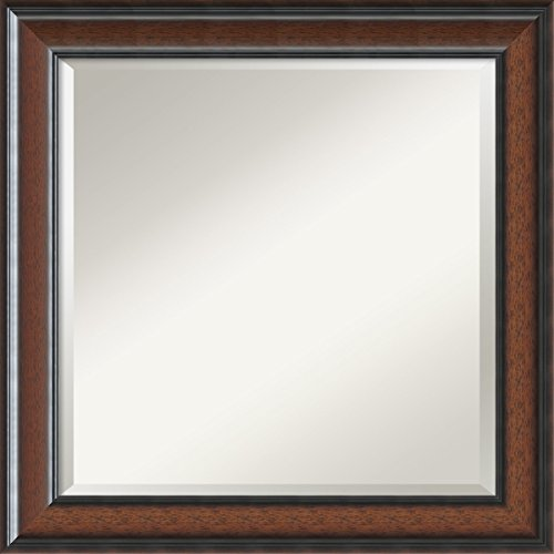 Wall Mirror Square Cyprus Walnut product image