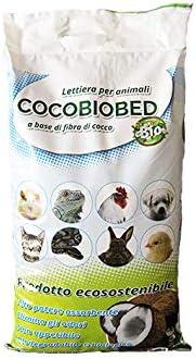 Geosism /& Nature Fibra di Cocco 2,5 kg - 10 lt terriccio Cocobiobed lettiera per Animali