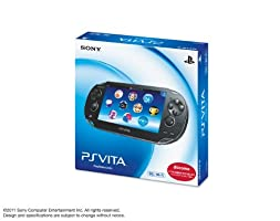 PlayStation Vita 3G/Wi‐Fi Model Crystal Black [Japan Import]