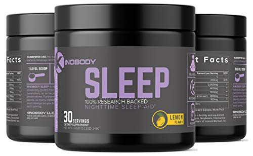 KinoBody: Kino Sleep - Natural Sleep Aid - 30 Servings - All Natural Formula - Puts Your Body in A State of Restful Balance - Helps You Wake Up Feeling Refreshed
