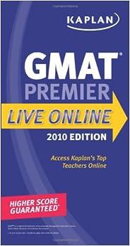 Book Kaplan GMAT 2010: Premier Live Online (Kaplan Gmat Premier Live)