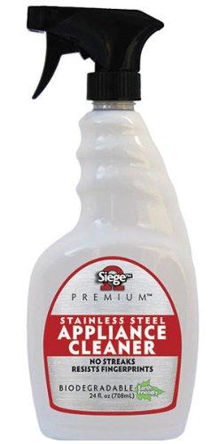 Siege Premium Stainless Steel Appliance Cleaner (24 Fl Oz) by Siege