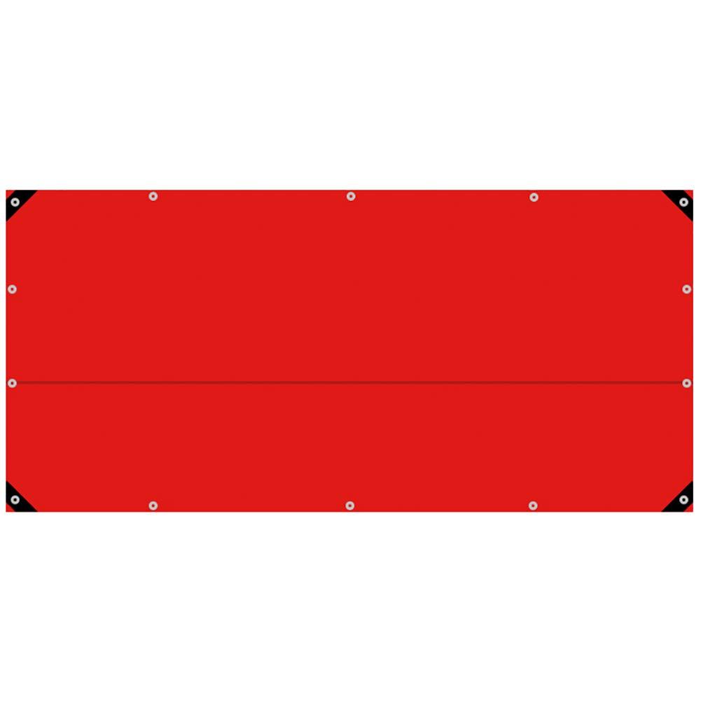 JNYZQ Rote Feier PVC-Wasserdichte Plane, isolierte Außenmarkisentuch, Wasserdichte Sonnenschutzplane, Sonnenschutz-Staubschutz, 0,45 mm dick (größe   3m×6m)