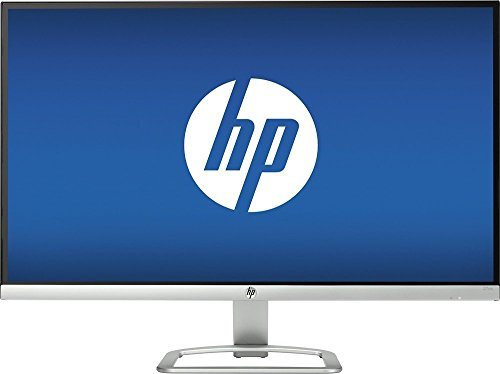 HP Newest Model 27-inch Full HD 1920x1080 widescreen IPS LED-lit Monitor丨1000:1 typical丨HDMI/VGA丨178° horizontal丨Bezel-less display丨