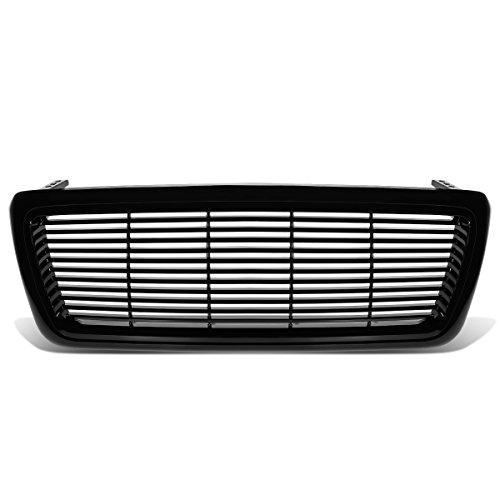 Bumper Grille Billet F150 - For 04-08 Ford F150 Billet Style Front Bumper Grille (Black)