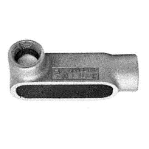 Appleton LL27-SA FM7 Conduit Body, Style LL, Copper-Free Aluminum, 3/4''