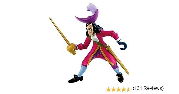 Bullyland 12651 - Walt Disney Capitán Hook [importado de Alemania ...