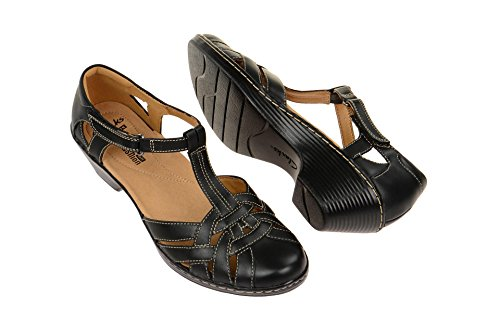 Clarks Wendy Loras 7.5 Black