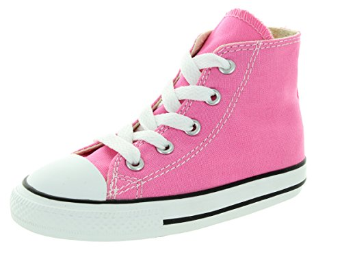 Converse Chuck Taylor All Star High Top Infant Shoes Pink 7j234 (9 M US) ()