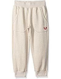 True Religion Girls' Cropped Sweatpant