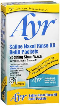 (Ayr Sinus Rinse Kit Refill Packets 51 Each (Pack of 2))