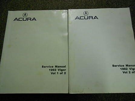 1992 acura vigor service repair shop workshop manual oem book 1992 rh amazon com Acura Vigor Engine Acura ZDX
