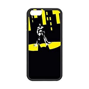 Batman Shadow In The City iPhone 6 Plus 5.5 Inch Cell Phone Case Black toy pxf005_5784673