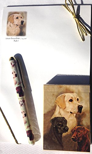 Labrador Notepad - LABRADOR RETRIEVER DOG - Ruth's Poker Set by Best Friends by Ruth Maystead