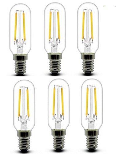 Best to Buy (6-PACK) E26 2W T10 Cob Led Vintage Light Bulb Retro Edison Style Screw 20W Incandescent Bulb Not Dimmable White 5000K 200lm Unique Designer