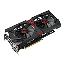 ASUS STRIX Radeon R9 380 Overclocked 2 GB DDR5 256-bit DisplayPort HDMI 1.4a DVI-D DVI-I Gaming Graphics Card