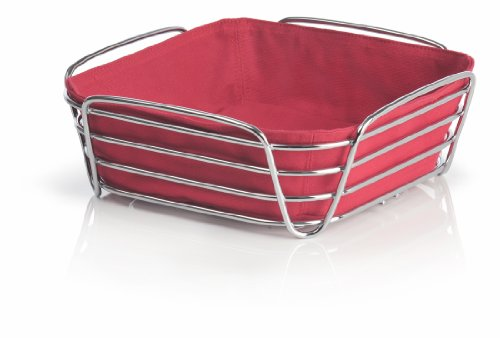 blomus 63550 wire Basket, Large, Red