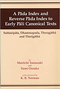A Pada Index & Reverse Pada Index To Early Pali Canonical Texts por K.r. Norman Gratis