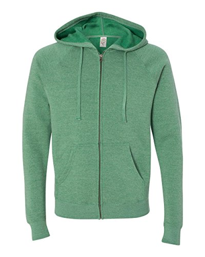 Independent Trading Co. ITC-Unisex Special Blend Hooded Sweatshirt-PRM33SBZ-XXL-Sea Green