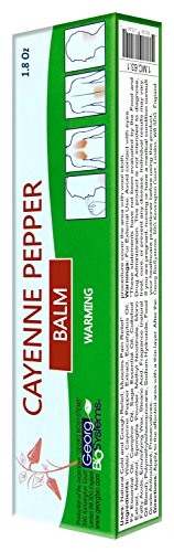 Cayenne Pepper Warming Balm 50g/1.8 Oz (Pepper Cream)