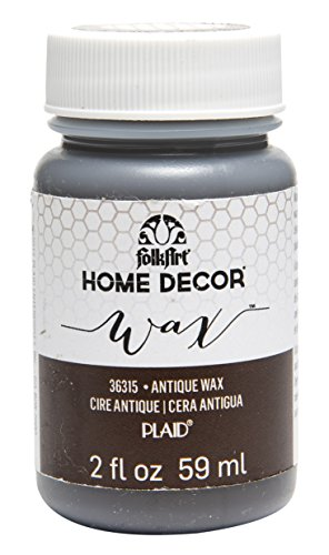 FolkArt Home Decor Chalk Furniture & Craft Paint in Assorted Colors (2 Ounce), 36315 Antique (Project Wax)