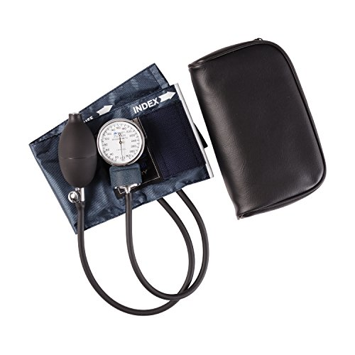 Mabis Precision Series Aneroid Sphygmomanometer Manual Blood Pressure Monitor, Cuff Size 7.7 to 11.3 inches, Child -