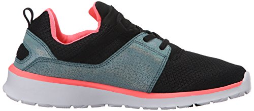 DC Heathrow Se - Zapatillas para niño negro Black/Glow Multicolor