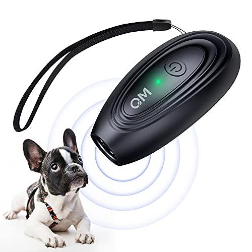 Stop Dog Barking, Dog Bark Control Device 16.4 Ft Range LED Indicator Anti Bark Training Tool Dog Barking Deterrent…