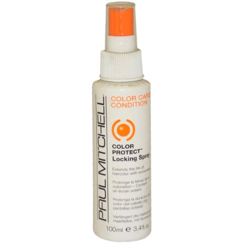 Colors 3.4 Ounce Spray (Color Protect Locking Spray By Paul Mitchell for Unisex Hair Spray, 3.4)