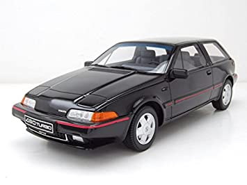 Volvo 480 Turbo 1988 Black Model Car 1: 18/OTTOMOBILE