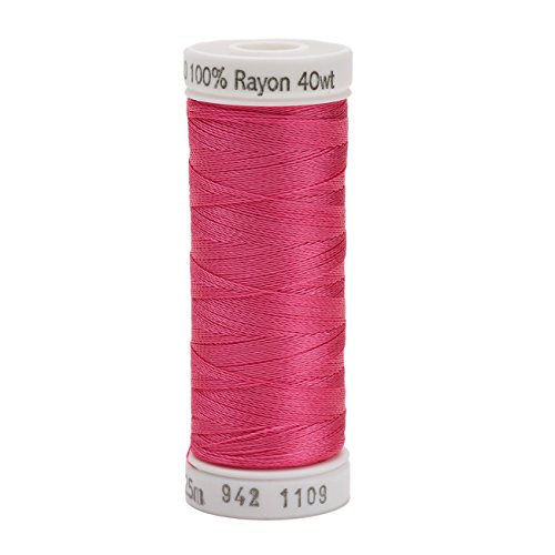 Sulky Rayon Thread for Sewing, 250-Yard, Hot Pink