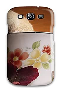 Hot Design Premium JYKIiBa2001nLiTK Tpu Case Cover Galaxy S3 Protection Case(a Mouse On A Cup Of Tea)