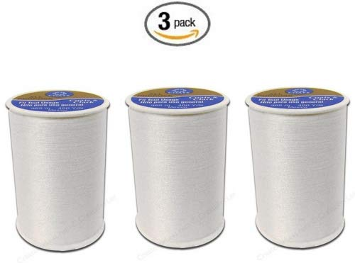 Quilting Coats & Machine Clark (Coats & Clark All Purpose Thread 400 Yards White (One Spool of Yarn) (3))