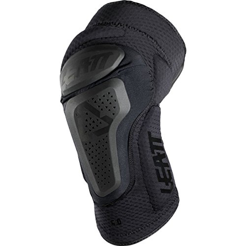 Leatt 3DF 6.0 Knee Guards-Black-S/M by Leatt