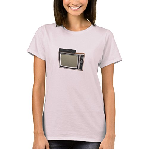 1b Vhs - Zazzle Men's Basic T-Shirt, 80's Style Tv and VCR: 3D Model T-Shirt, Maroon XXL