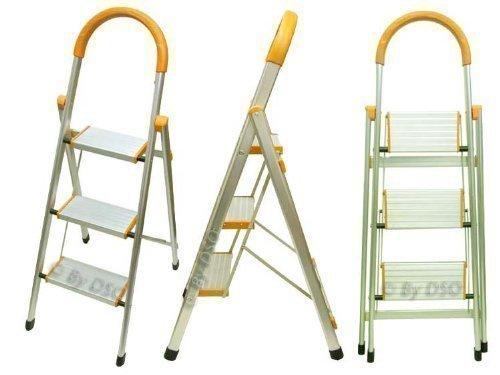 Ultra Lightweight 3 Wide Tread Aluminium Step Ladder SL058 Pro User