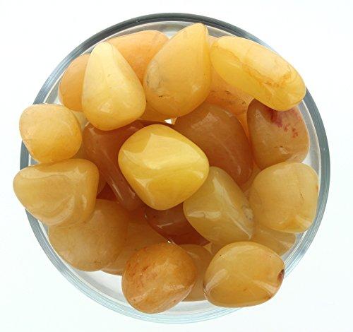 Gold Quartz Tumble Stone (3 Pack) -